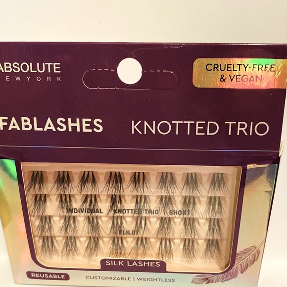 🦋6/$25 Silk Trio Knotted Reusable Lashes  New